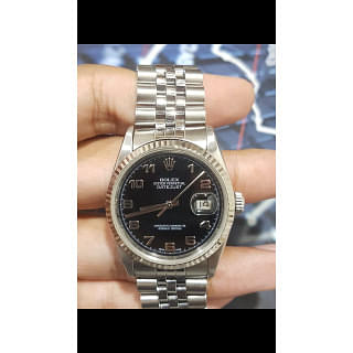 Rolex Datejust 36MM Black Dial
