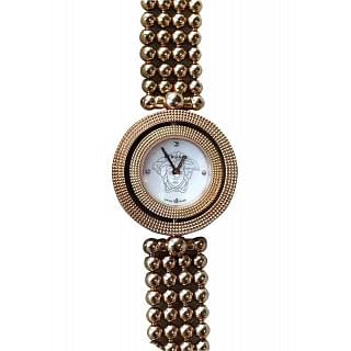 Versace Eon Lady Beaded Bracelet Watch