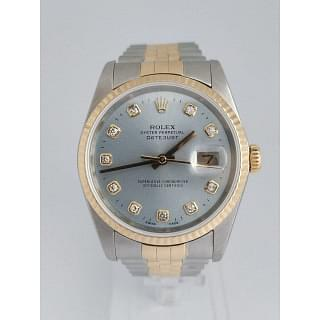 Rolex Datejust Diamond Dial 36MM Ice Blue