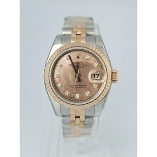 Rolex Ladies Datejust 26mm MOP Diamond Dial