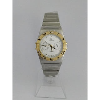 Omega Constellation Chronograph Two Tone Watch