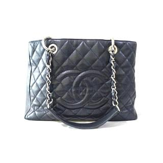 Chanel Quilted Caviar Leather GST Tote
