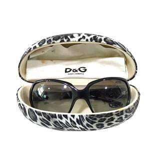 Dolce & Gabbana 8018 Black Sunglasses