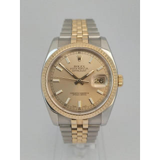 Rolex DateJust 36 Stainless Steel & Gold 116233