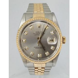 Rolex DateJust 36 Stainless Steel & Gold