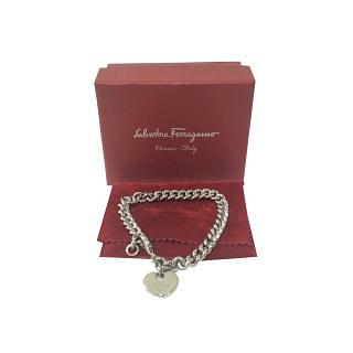 Salvatore Ferragamo Bracelet with heart charm