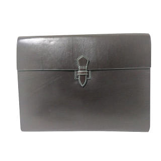 Salvatore Ferragamo Leather File Document Organiser