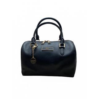 DKNY Saffiano Leather Boston Bag
