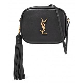 Saint Laurent Monogram YSL Blogger Crossbody Bag