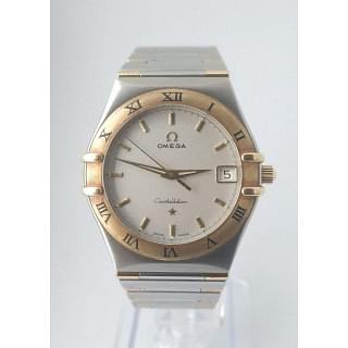 Omega Constellation Gold/Steel Half Bar