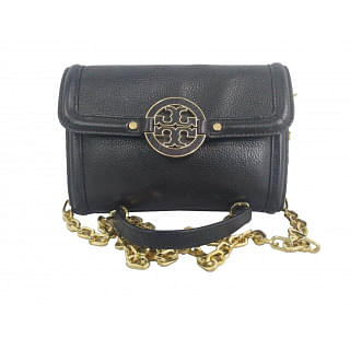 Tory Burch Amanda Leather Crossbody Bag