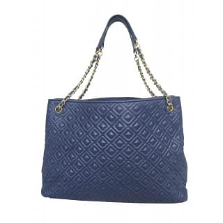 Tory Burch Marion Diamond Quilted Leather Tote