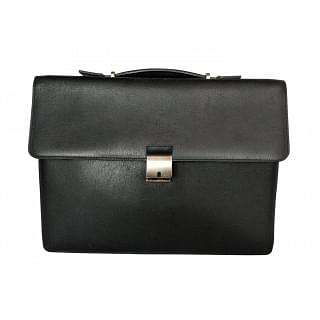 Ermenegildo Zegna Heritage Double Leather Briefcase