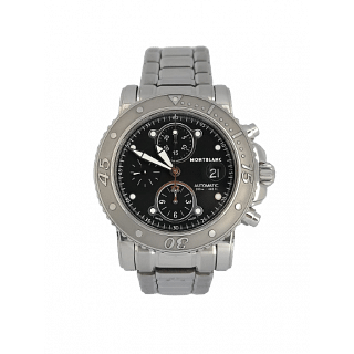 Montblanc Sport Chronograph Steel Automatic 7179