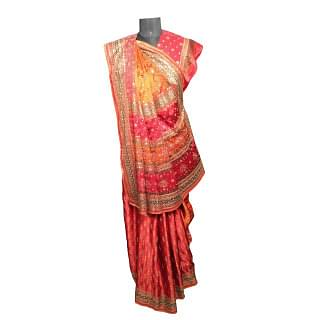 Ritu Kumar Saree with Unstitched Blouse