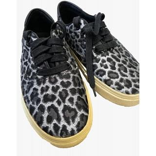 Saint Laurent Venice Leopard-print Sneakers