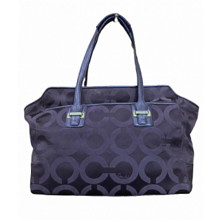 Coach Taylor OP Art North South Tote