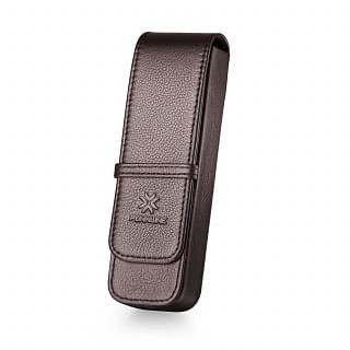 PENNLINE LEATHER 2 Pen Leather Case - Brown