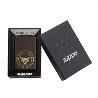 ZIPPO USA  Zodiac Sign Edition Taurus Lighter