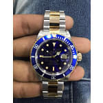Rolex Submariner Blue Watch