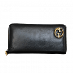 Gucci Ace Zip-Around Long Leather Wallet