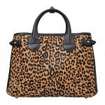 Burberry Animal House Check Medium Banner Tote