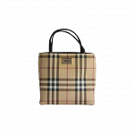 Burberry Mini Nova Check Top Handle Bag