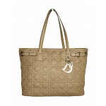 Dior Quilted Panarea Shopping Tote