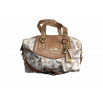 Coach Madison Op Art Chainlink 'Audrey' Satchel Handbag