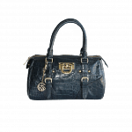 DKNY Croco Flap-Over Tote