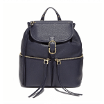 Salvatore Ferragamo Carol Black Backpack