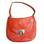 DKNY Orange Shoulder Bag