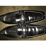 Prada Black Patent Leather Loafers