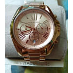 Micheal Kors Bradshaw Rose Gold Watch