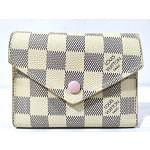 Louis Vuitton Victorine Damier Azur Canvas Wallet