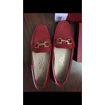 Salvatore Ferragamo Formal Red Loafers women