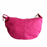 Coach 'Daisy' Hot Pink Signature C Large Hobo