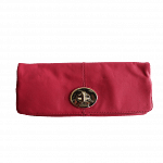 Coach Madeline Leather Foldover Clutch