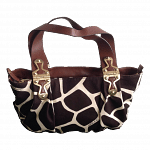 Michael Kors Giraffe Print Shoulder Handbag