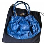 DKNY Electric Blue Leather Bag