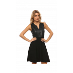 Guess Black Viscose Casual Dress For Women