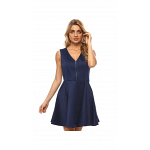Guess Blue Polyester Special Occasion Dress For Women