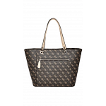 Guess Tote Bags for Woman , Leather , Multi Color , SG669123,BRO
