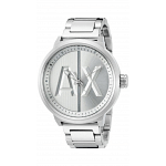 ARMANI EXCHANGE ATLC Three Hand Stainless Steel Watch - Silver-Tone -AX1364