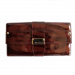 Jimmy Choo Reese Patent Leather Wallet Clutch   Luxepolis.com