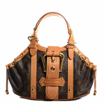Louis Vuitton Limited Edition Monogram Canvas Theda PM