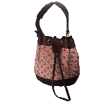 Louis Vutton Pink Noelie Monogram Mini Handbag