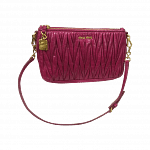 Miu Miu Matelasse Luxe Shoulder Bag/Clutch