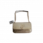 Michael Kors Flap Small Shoulder Bag Pale Gold