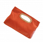 Michael Kors Orange Berkley Clutch